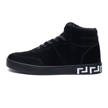 High Neck Students' Leisure Shoes - BLACK 43