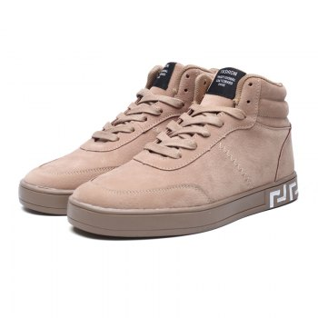 High Neck Students' Leisure Shoes - LIGHT BROWN 39