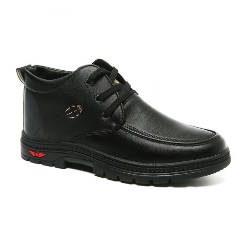 British Style Business Casual All-match Shoes - BLACK 41