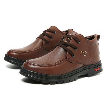 British Style Business Casual All-match Shoes - TAN 39