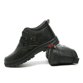 British Style Business Casual All-match Shoes - BLACK 42