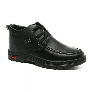 British Style Business Casual All-match Shoes - BLACK BLACK