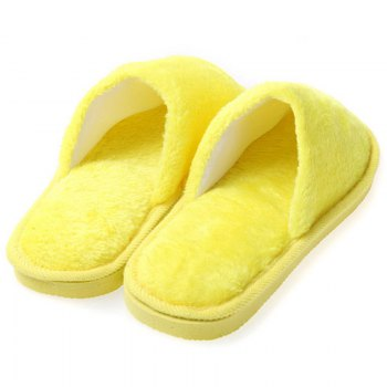 The New Home-Color Lovers Cotton Slippers - YELLOW 37