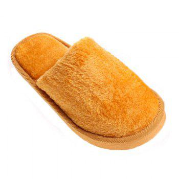 The New Home-Color Lovers Cotton Slippers - EARTHY EARTHY