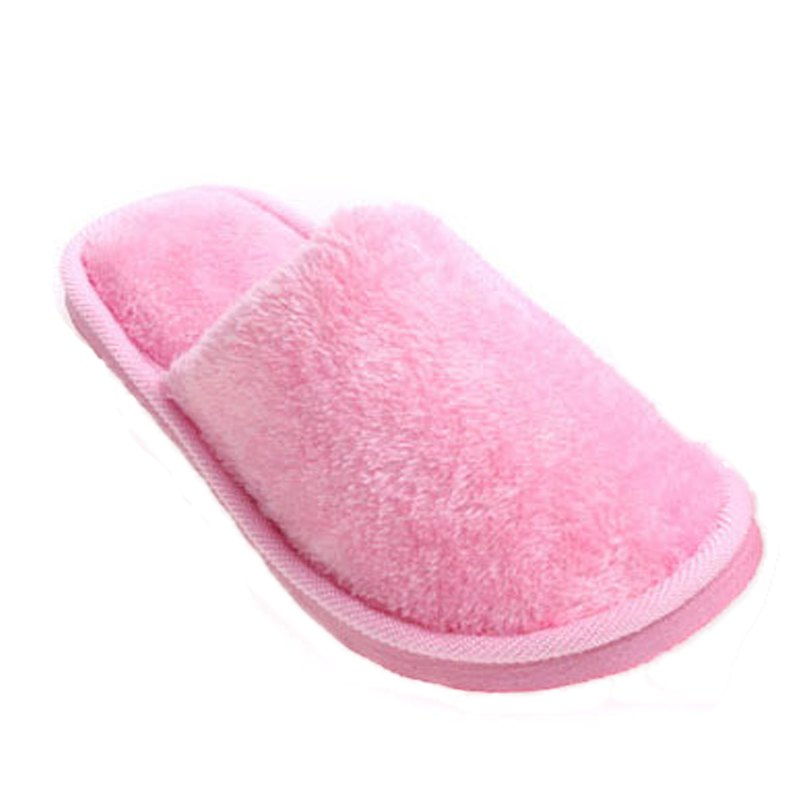 The New Home-Color Lovers Cotton Slippers - PINK 40