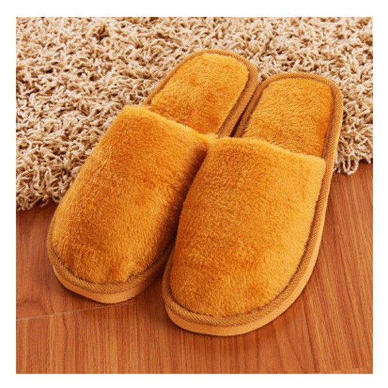 The New Home-Color Lovers Cotton Slippers - EARTHY 42