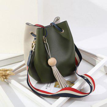 Edition Simple Bucket Bag Style Slanting Bag with A Bag of Casual Shoulder Bag -  IVY
