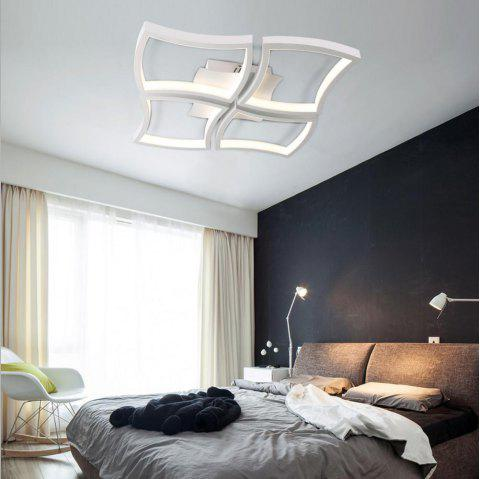 Simple Creative Style LED Flush Mount Ceiling Light Square Combination Shape for Office Meeting Room  Living Bedrooms - WHITE EU AC220-240