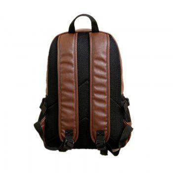 Double Shoulder Bag Tide Outdoors Bag Computer Package Student Bag SH - BROWN C STYLE BROWN C STYLE