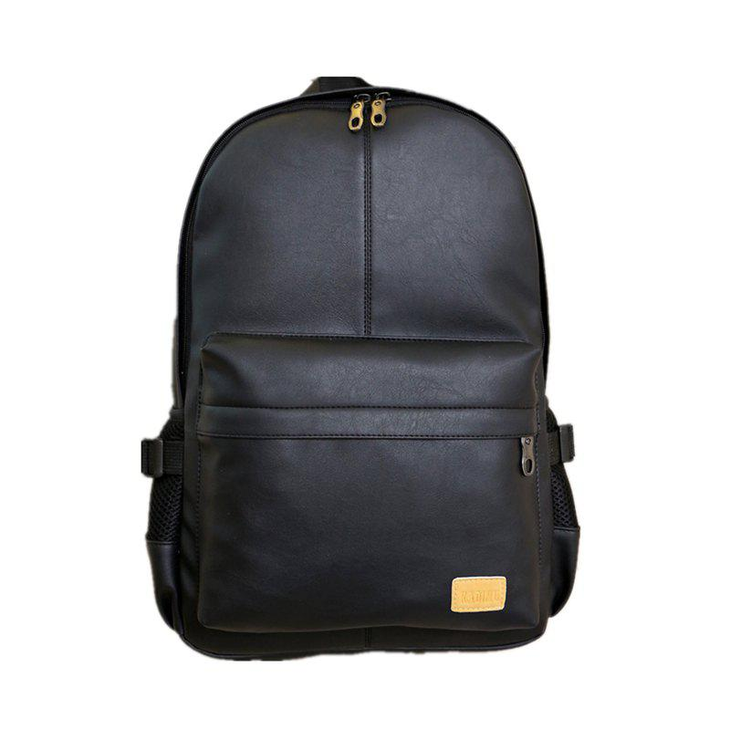 Sac à bandoulière double Tide Outdoors Bag Sac d'ordinateur Student Bag SH - Noir 44CM30CM12CM