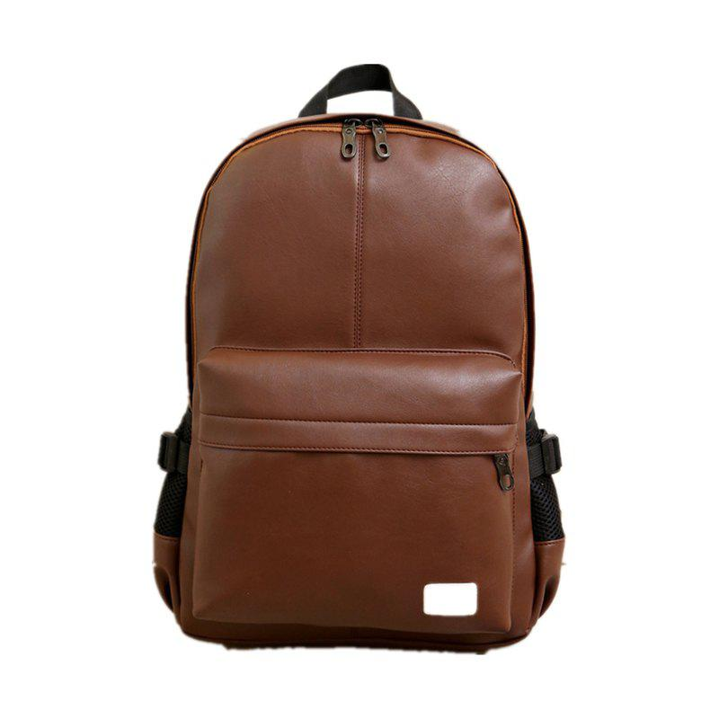 Double Shoulder Bag Tide Outdoors Bag Computer Package Student Bag SH - BROWN C STYLE 44CM30CM12CM