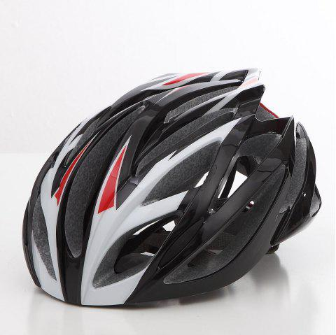 Cool Bicycle Helmet Bike Cycling Adult Adjustable Unisex Safety Helmet - WHITE
