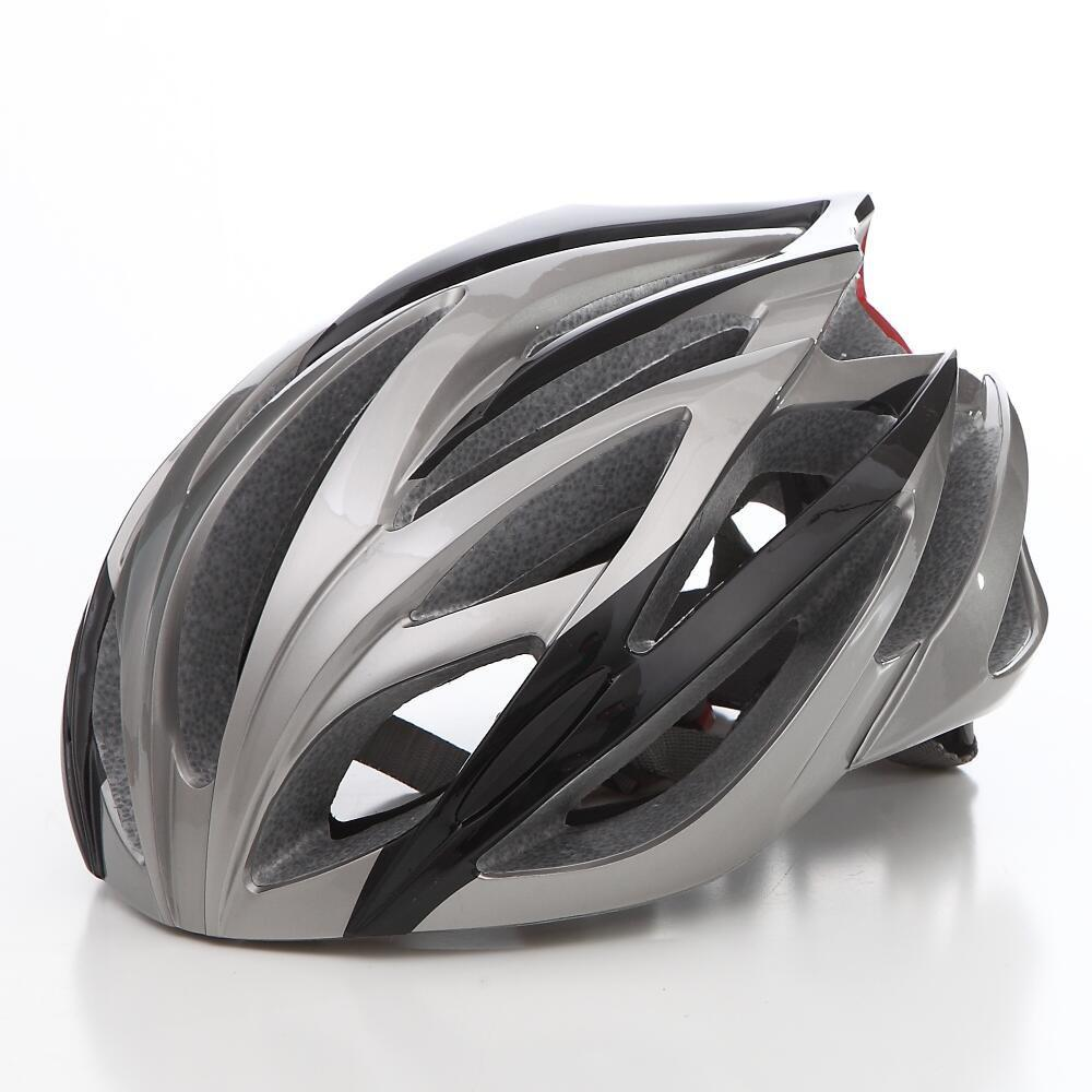 Cool Bicycle Helmet Bike Cycling Adult Adjustable Unisex Safety Helmet - SILVER
