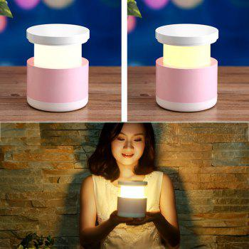 XY - YD1 Creative Colorful Telescopic LED Eye Reading Lamp Intelligent USB Warm Home Furnishing Nightlight - PINK