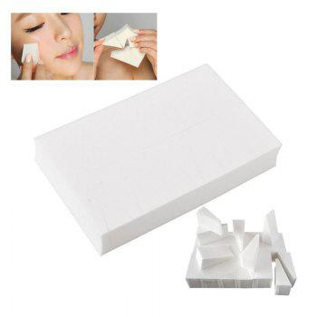 24PCS Beauty Makeup Toolss Triangle Powder Puff Functionality Makeup Sponge Wedges Facial Foundation Cosmetic Cotton Pad - WHITE WHITE