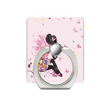 Pink Girl Pattern Cell Phone Ring Stand Holder for Phone - PINK PINK