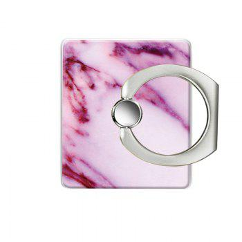 Marble Pattern Cell Phone Ring Stand Holder for Phone - PINK