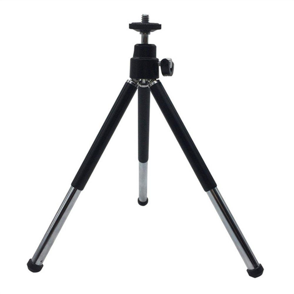 Mini 360 Degree Rotatable Stand Tripod Mount - BLACK