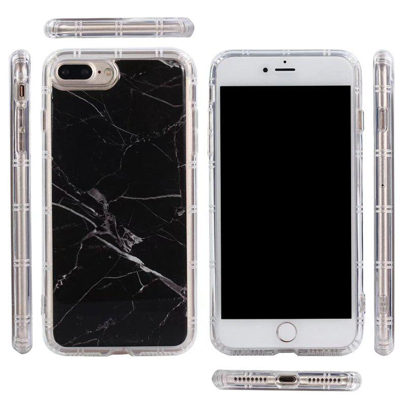 Marble TPU Soft Rear Shell for iPhone 7 Plus / 8 Plus