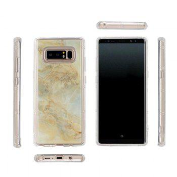 Marble TPU Soft Rear Shell for Samsung Galaxy Note 8 - GOLDEN GOLDEN