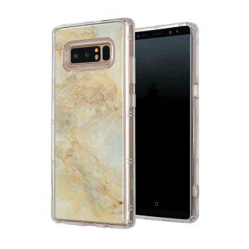 Marble TPU Soft Rear Shell for Samsung Galaxy Note 8 -  GOLDEN