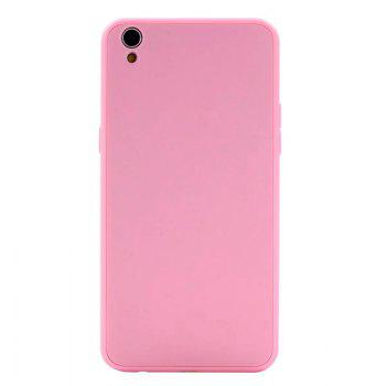 Pure Color Full Package Soft Rear Shell for Oppo R9 Plus - PINK PINK
