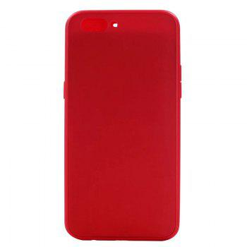 Pure Color Full Package Soft Rear Shell for Oppo R11 Plus - RED RED