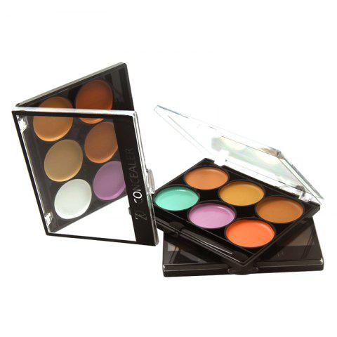 ZD F2024 6 couleurs Concealer visage maquillage 3pcs - multicolore