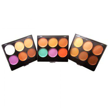 ZD F2024 6 Colors Concealer Face Makeup 3pcs -  COLORMIX
