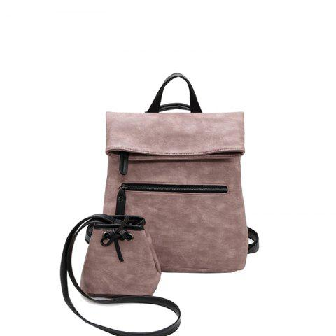Two Packages of Student Travel Backpacks - PINK