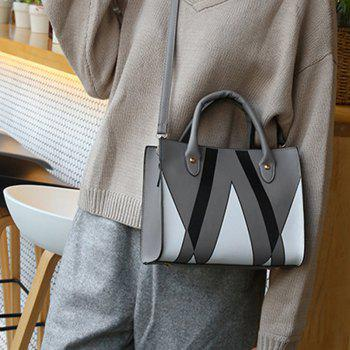 The Triangle Print Killer Woman Hits The Female Bag -  DEEP GRAY