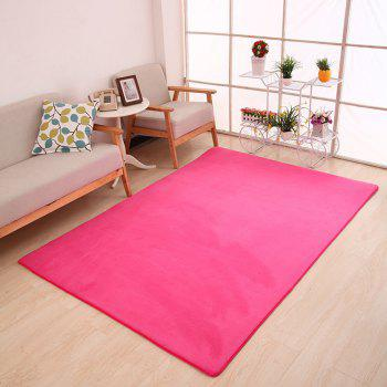 Doormat Modern Style Solid Water Proof Carpet5 - ROSE RED ROSE RED