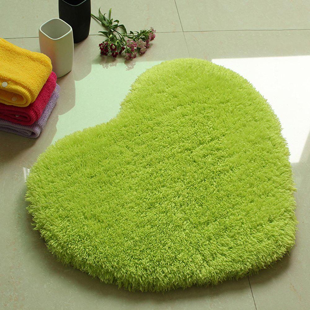 Door Mat Sweet Heart Shape Cute Home Decor Floor Mat5 - GREEN 70X80CM
