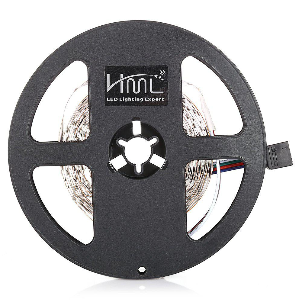 HML 5M 24 W RVB 2835 SMD 300 LED Bande lumineuse avec IR 44 touches télécommande + UE adaptateur - RGB