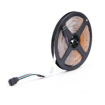HML 5M Water-proof 24W RGB 2835 SMD 300 LEDs Strip Light with RF 10 Keys Remote Control and EU Adapter - RGB