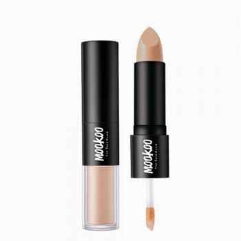 MOOKOO Perfect Ideal Concealer Duo Cover Up Black Eyes and Acne Mark - 01