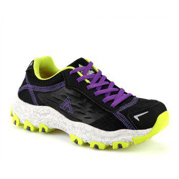HUMTTO Women's Walking Shoes Lightweight Breathable Trekking Shoes - BLACK BLACK