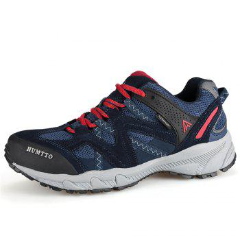 HUMTTO Outdoor Trekking Shoes Men's Climbing Walking Shoes Sneakers - DEEP BLUE DEEP BLUE