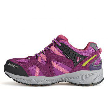 HUMTTO Outdoor Trekking Shoes Women's Climbing Walking Shoes Sneakers - PURPLE PURPLE