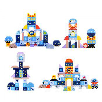 Sky Building Blocks for Toy Children - BLUE