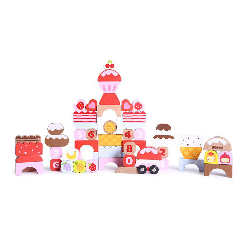 Sky Building Blocks for Toy Children - PINK