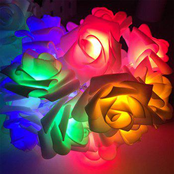 BRELONG LED Rose String Lights Holiday party Christmas decoration lights 20LED - RGB