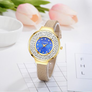 GAIETY G484 Ladies Fashion Quartz Watch - GOLDEN