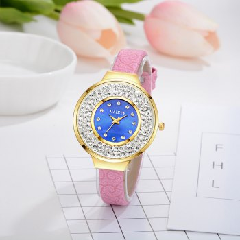 GAIETY G484 Ladies Fashion Quartz Watch -  PINK