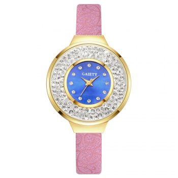 GAIETY G484 Ladies Fashion Quartz Watch - PINK PINK