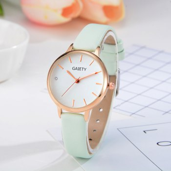 GAIETY G487 Ladies Fashion Candy Color Watch - SKYBLUE
