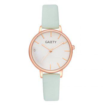 GAIETY G487 Ladies Fashion Candy Color Watch - SKYBLUE SKYBLUE