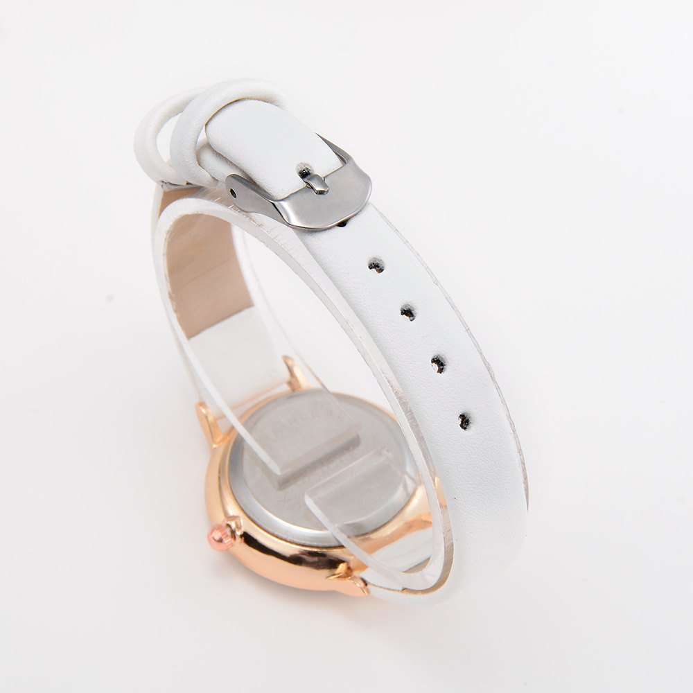 GAIETY G487 Ladies Fashion Candy Color Watch - WHITE