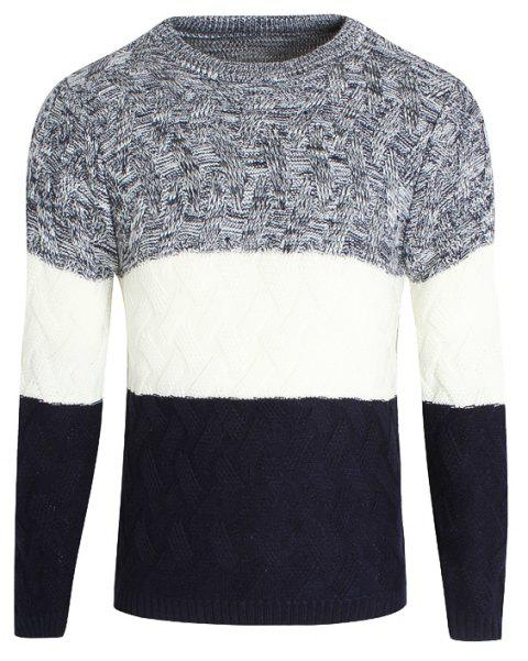 Young Men'S Casual Lounge Sweaters - CERULEAN L