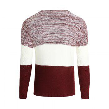 Young Men'S Casual Lounge Sweaters - RED RED